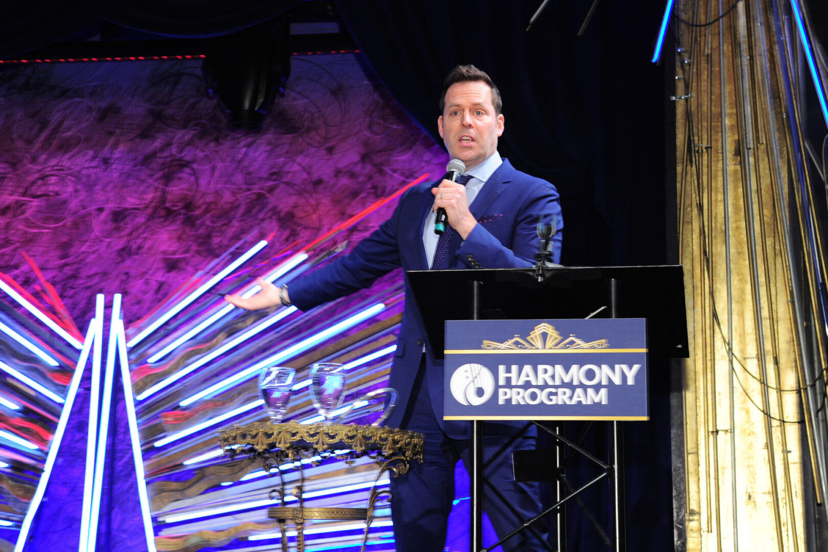 NEW YORK, NY - MARCH 2: Live Auction attends Harmony Program Annual Gala at Sony Hall on March 2, 2020 in New York. (Photo by Owen Hoffmann/PMC) *** Local Caption *** Live Auction